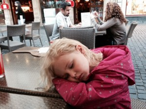 Long day for Annabelle!