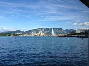 Geneve from the ferry